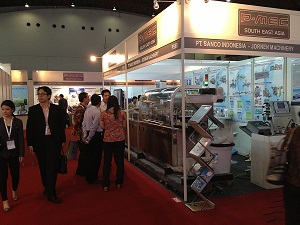 <b>We displayed Blister Machine in InnoPack South East Asia 2013 in Jakarta</b>