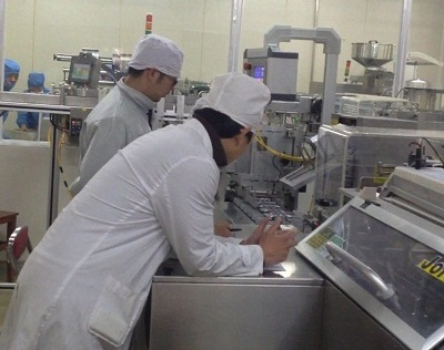Cartoner running in Kunming Pharmaceutical Group