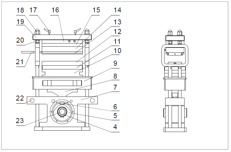 dpp260ki2 blister machine sealing station