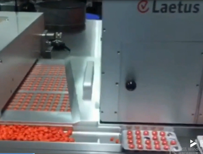Blister Machine DPH350 in production in pharma