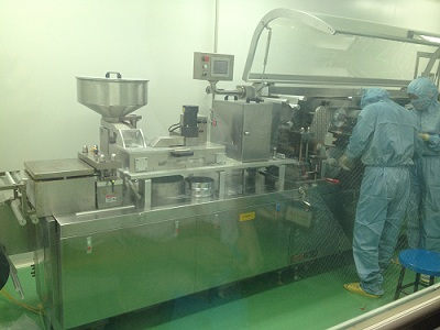 <b>Our ALU/PVC/ALU Blister Machine in kunming Jida Pharmaceutical Co., Ltd.</b>