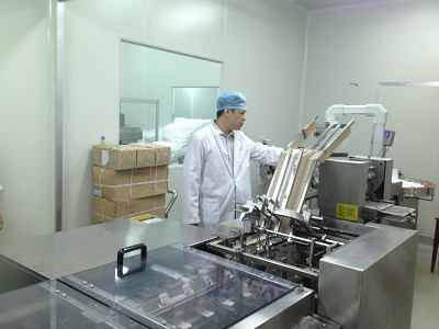 Our Cartoning Machine runing in Kunming Pharmaceutical Group