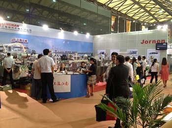 Jornen displyed Blister Machine, Cartoner in CPHI China 2013