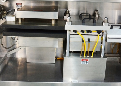 Blister Packaging Machine DPH260, forming station.