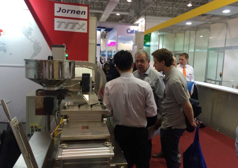Blister Packaging Machine in FCE Pharma, Brazil 2015