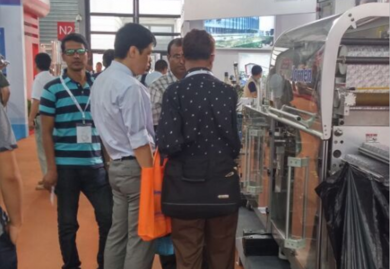 Blister Packaging Machine in CPHI China 2015