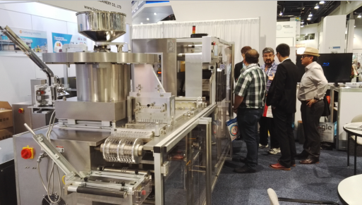 Blister Machine & Cartoner in Pharma EXPO 2015, USA
