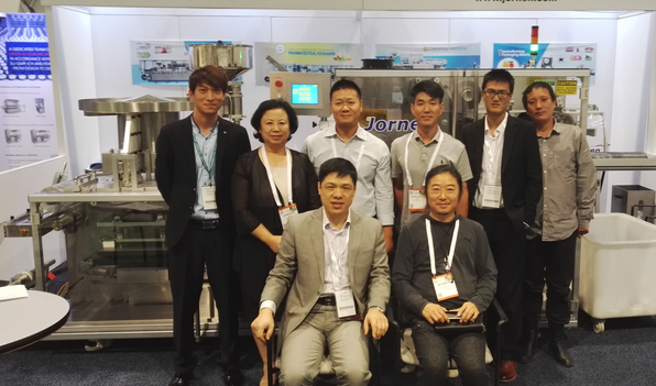 Customer purchased our Blister Machine in Pharma EXPO 2015, USA