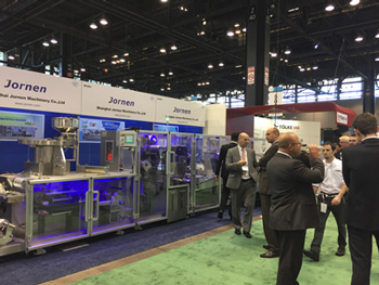 We displayed Blister Packaging Line in Pharma EXPO Chicago