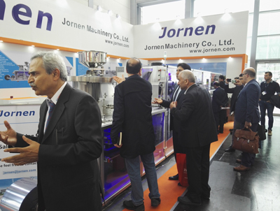 Customers visiting us in Interpack 2017