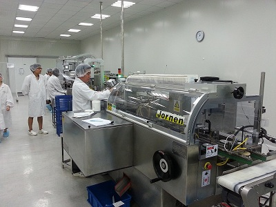 Vials Blister Packaging Line for a pharma