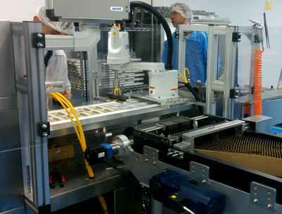Ampoules & vials Blister Packaging Line in Turkey