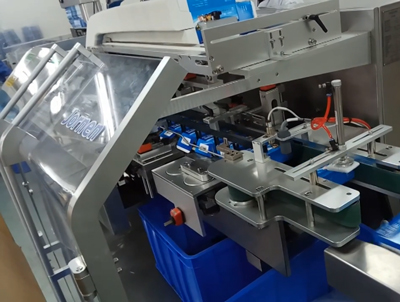 A line intergrated Labeller Blister Machine & Cartoner